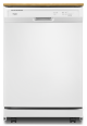 WDP370PAHW Heavy-Duty Whirlpool Dishwasher with 1-Hour Wash Cycle,WDP370PAHW