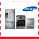SAMSUNG STAINLESS STEEL APPLIANCES PACKAGE,RF28HFEDBSR-NX58H9500WS-DW80J3020US