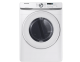 Electric Dryer with Shallow Depth in White I DVE45T6005W,DVE45T6005W