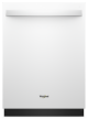 Wdt750sahw Whirlpoolbuilt-in Dishwasher 47db White  With Stainless Steel Tub,WDT750SAHW