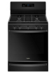 Whirlpool 5-burner Gas Range WFG775H0HB  In 30 Inch , 5.8 Cu. Ft. With Self-clean Convection,WFG775H0HB