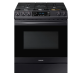 Black Stainless Steel Gas Range With True Convection I NX60T8511SG,NX60T8511SG