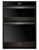 Black Color True Convection wall oven with microwave from Whirlpool - WOC75EC0HV,WOC75EC0HV