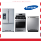 Samsung Stainless Steel Refrigerators, Electric Gas Range and Self Clean Dishwasher,RF263BEAESR-NX58H5600SS-DW80N3030US