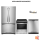 WHIRLPOOL STAINLESS STEEL APPLIANCE PACKAGE,WRF532SNHZ-YWEE510S0FS-WDF560SAFM