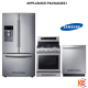 Samsung Stainless Steel Appliance Package,RF23HCEDBSR - NX58M6650WS - DW80K7050US