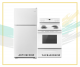 Amana white appliance package,ART318FFDW - YACR4303MFW