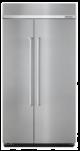 KitchenAid KBSN602ESS 25.5 cu. ft 42-Inch Width Built-In Side by Side Refrigerator with PrintShield™ Finish,KBSN602ESS