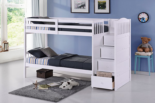 Bunk Bed With 4 Pullout Storage Drawers With Ext Kit If05 B 5900