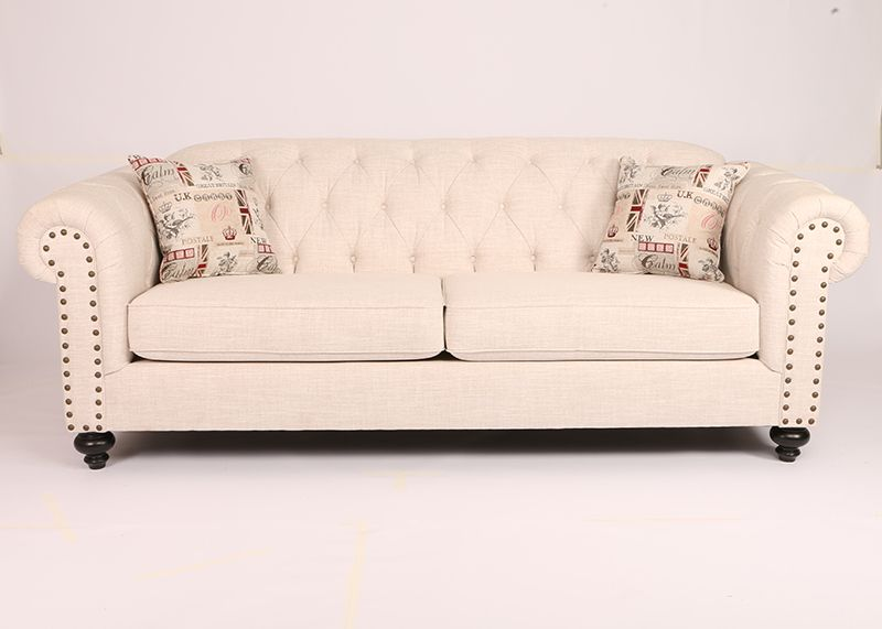 Canadian Made 1840 Tufted Back Couch, Tufted Back Sofa